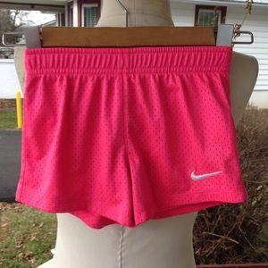 Girls Nike shorts.